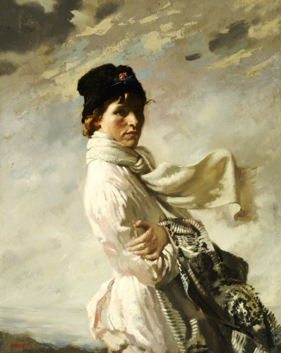 In Dublin Bay, 1909 by Sir William Orpen