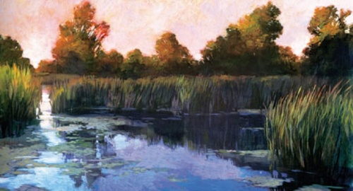 The Lily Pond by Philip Craig