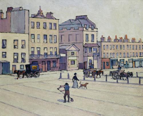 The Weigh House, Cumberland Market, C.1914 by Robert Bevan