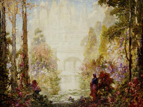 Sita's Garden II by Tom Mostyn