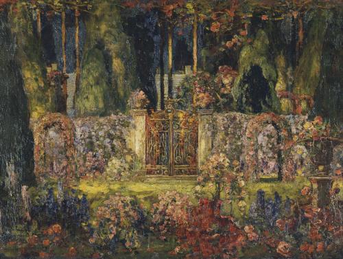 The Manor Gates by Tom Mostyn
