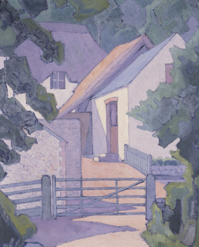 Morning, The South Downs by Robert Bevan