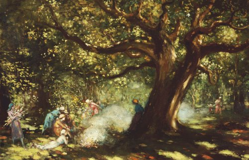 The Big Oak, Raheen by George Russell