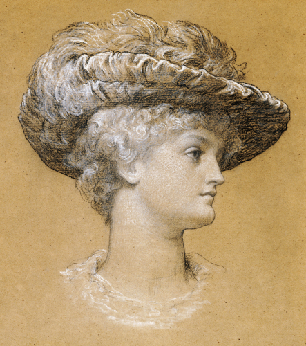 Portrait Of Dorothy Dene, 1884 by Lord Frederic Leighton