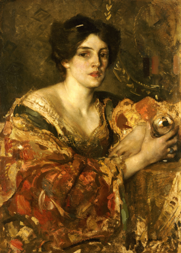 The Fortune Teller, Miss Jane Aitken by Edward Arthur Walton