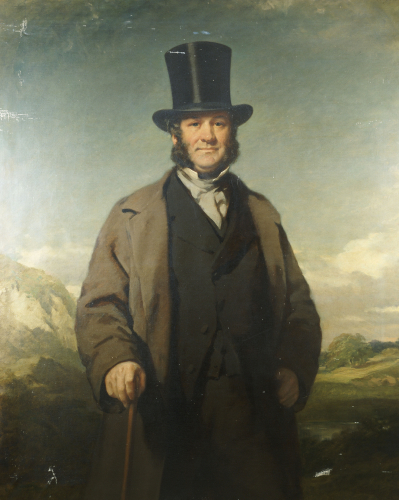 A Portrait Of Robert Baird Of Auchmedden by Sir John Watson Gordon