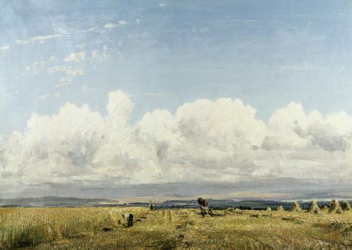 Building Haystacks by William Page Atkinson Wells