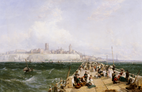 The Pier, Margate, 1868 by James Webb