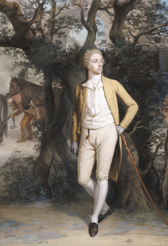Arthur Hill, 2nd Marquess Of Downshire (1753-1801) by Hugh Douglas Hamilton
