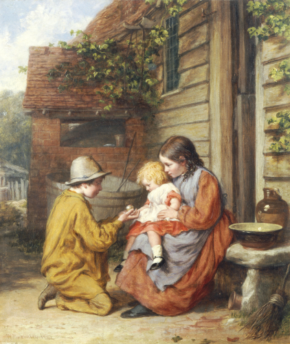 The Present, 1864 by William Bromley