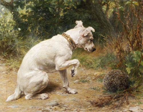 A Prickly Problem by George Augustus Holmes