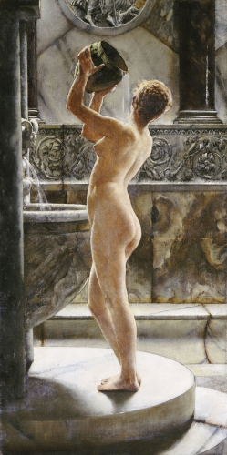 The Bath by John Reinhart Weguelin