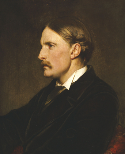 Portrait Of Henry Evans Gordon by Lord Frederic Leighton
