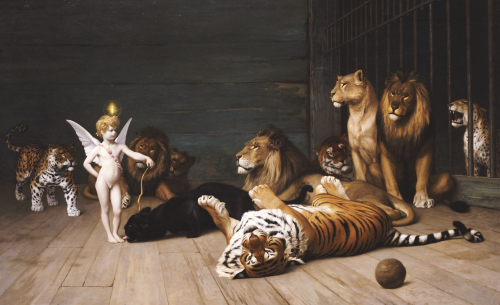 Whoever You Are, Here Is Your Master (Love, The Conqueror) by Jean-Leon Gerome