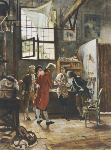 The Inventor's Laboratory by Pietro Gabrini