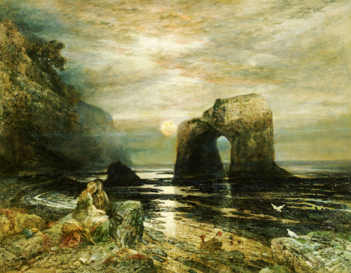 The Honeymoon by Alfred Joseph Woolmer