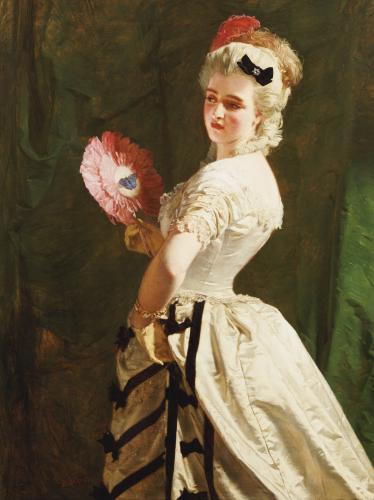 The Flirt by Alexander Johnston