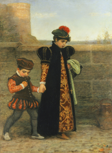 The Girlhood Of Saint Theresa by Sir John Everett Millais
