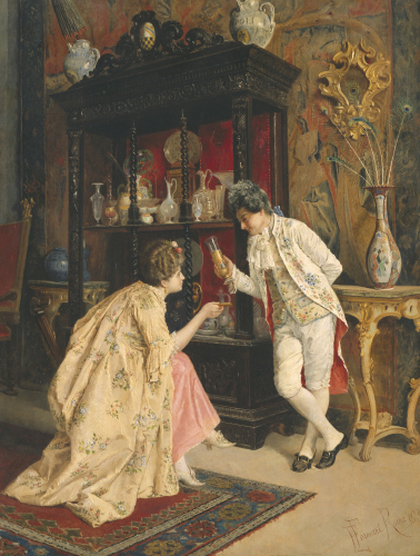 The Connoisseurs, 1873 by E. Fornari