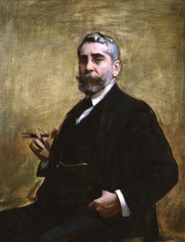 A Portrait Of A Gentleman by Ramon Casas
