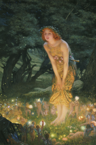 Midsummer Eve by Edward Robert Hughes