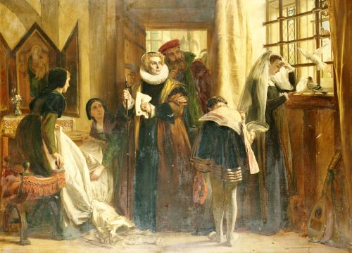 Mary, Queen Of Scots In Captivity, 1871 by John Callcott Horsley
