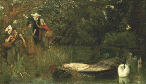 The Lady Of Shalott, 1873 by Arthur Hughes