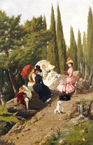 Summer Afternoon by Ignace Spiridon