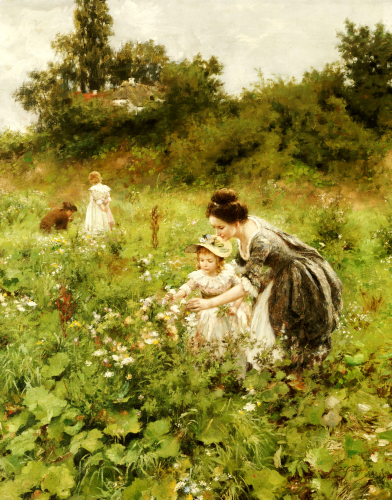 Summer's Delight, 1899 by Hermann Seeger