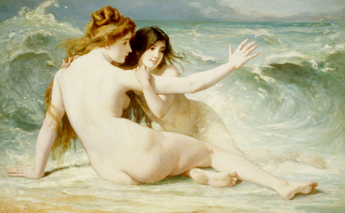 Sea Nymphs by Albert Laurens