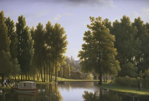 Le Parc De Mortefontaine, 1806 by Jean Joseph Xavier Bidauld