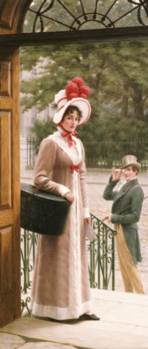 A Source Of Admiration, 1904 by Edmund Blair Leighton