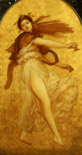 The Dance Of The Cymbalists (left panel) by Lord Frederic Leighton