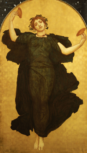 The Dance Of The Cymbalists (centre panel) by Lord Frederic Leighton