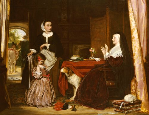 The New Dress by John Callcott Horsley