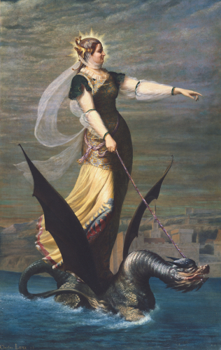 La Tarrasque, 1874 by Charles Lepec