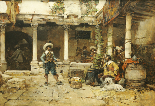 A Good Story by Jose Benlliure Y Gil