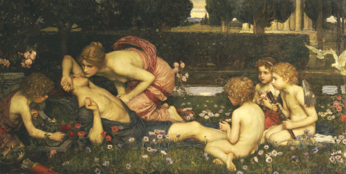The Awakening of Adonis, 1899 by John William Waterhouse