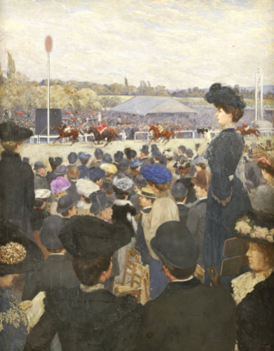 At The Races by Edouard Zawiski