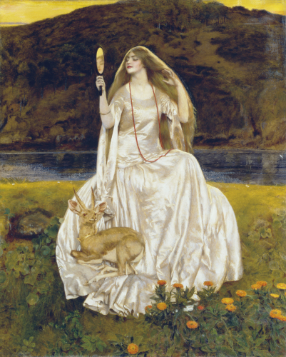 The Damsel Of The Lake, Called Nimue The Enchantress, 1924 by Frank Cadogan Cowper