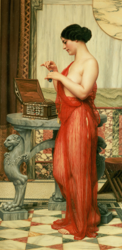 The New Perfume, 1914 by John William Godward