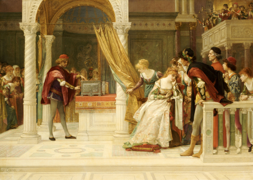 The Merchant Of Venice by Alexandre Cabanel