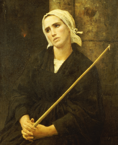 The Penitent, 1886 by Jules Adolphe Breton