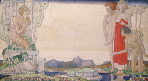 The Voice Of Pan by Edward Reginald Frampton
