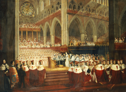 The Coronation Of Queen Victoria, C.1838 by Edmund Thomas Parris