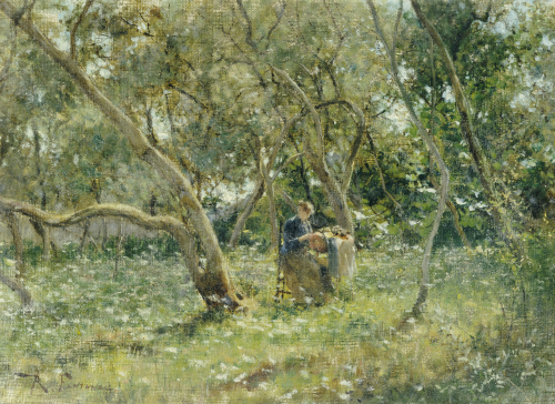 In The Orchard by Roberto Fontana
