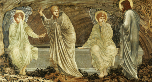 The Morning Of The Resurrection, 1882 by Sir Edward Burne-Jones