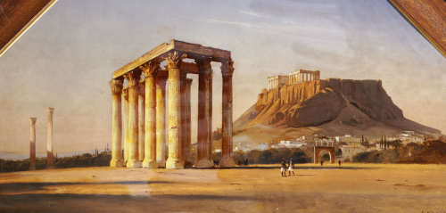 The Acropolis by Carl Neumann