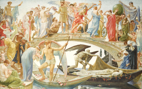 The Bridge Of Life, 1884 by Walter Crane