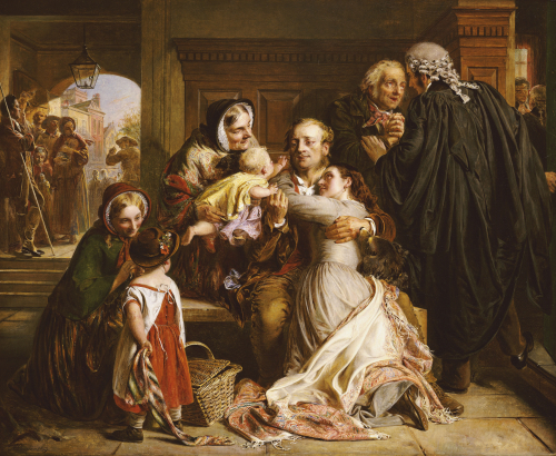 The Acquittal by Abraham Solomon